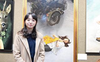 展現真相故事 《雪中梅》獲油畫大賽銅獎