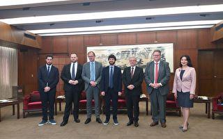 欧议会友台小组访台 主席吁正视中共迫害人权