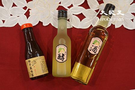 大叶大学食生系柯文庆教授获农委会种苗场补助,开发柚香系列产品。