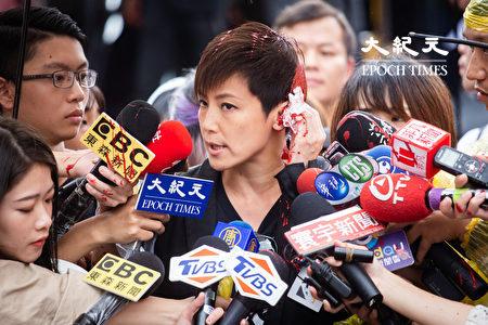 香港歌手何韻詩。圖為資料照。(陳柏州/大紀元)