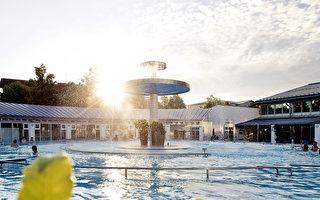 歐洲最大水療中心 天然高溫硫磺泉
