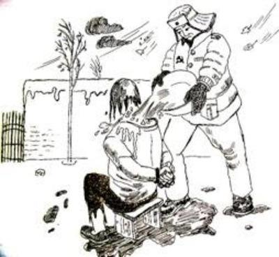 遼寧女監摧殘六旬老人 冬天往身上澆冷水