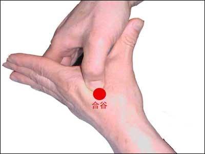 1.指壓按揉合谷穴、內關穴、足三里、中脘穴。
