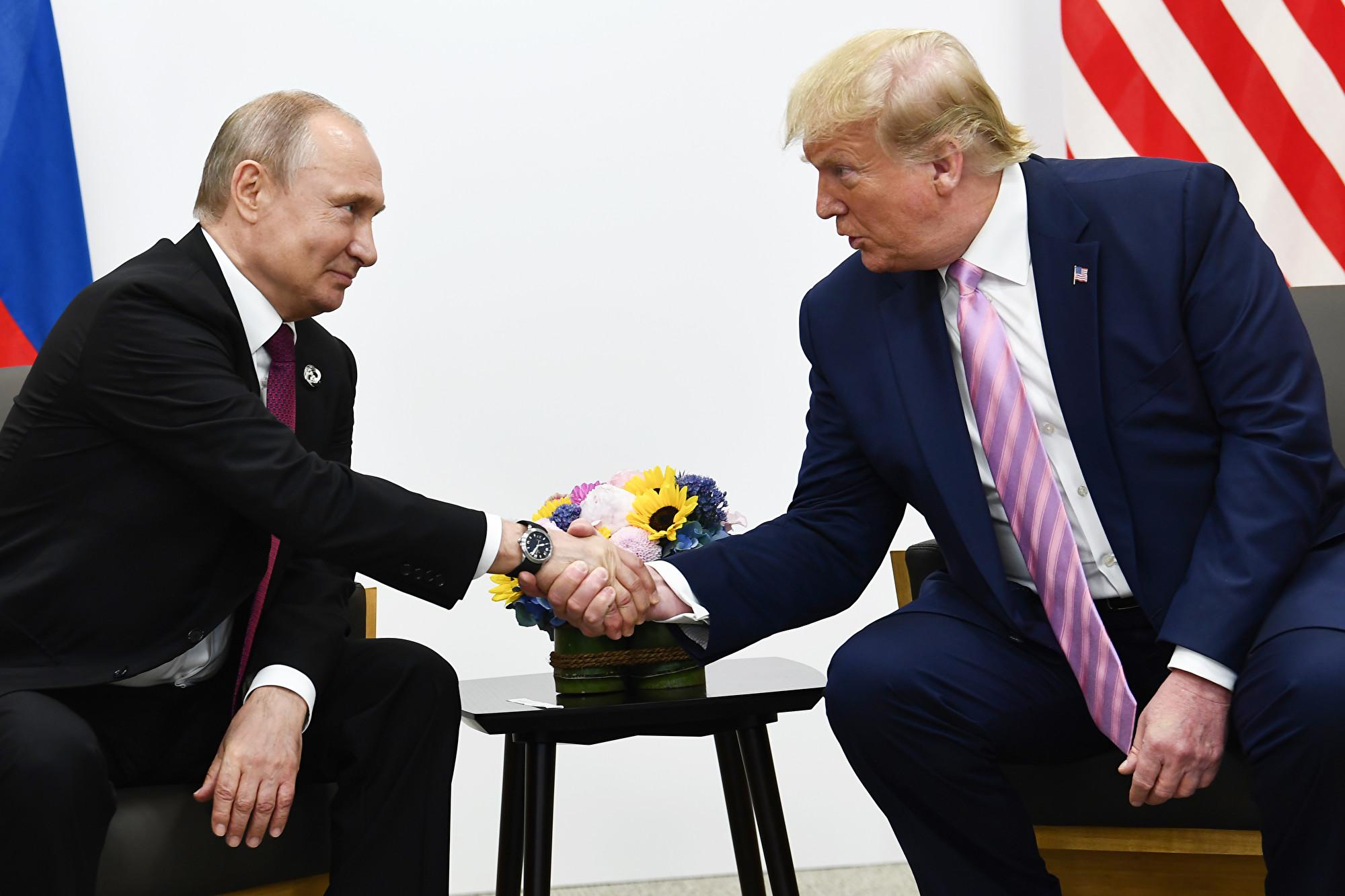 特朗普和普京通話 談及一個和北京有關議題