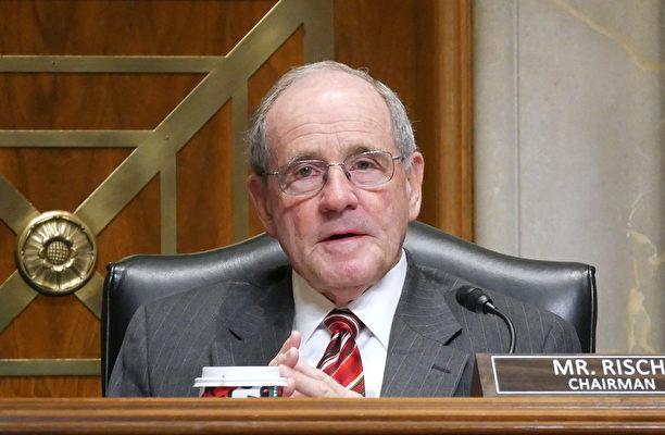 12月4日,參議院外交委員會主席里施(Jim Risch)在聽證會上。(李辰/大紀元)