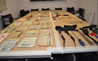 警方破獲大溫系列入室盜竊案