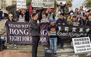 洛杉矶声援香港国际人权日游行 为自由而战