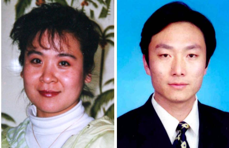 原中國新聞社研究部採編高維平被非法判刑4年,原唐山廣播電台節目主持人王建輝遭受多次迫害。(大紀元合成圖)