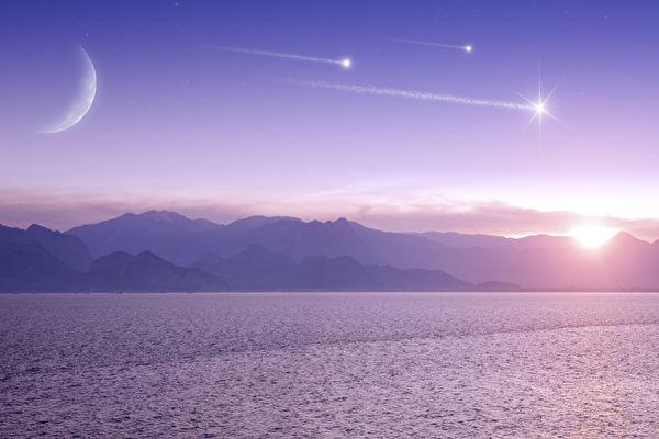 星辰,月,晨星
