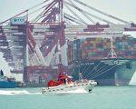 """美中贸易谈判走到今天,几乎成了一根鸡肋和""""面子工程""""。图为山东青岛港。(STR/AFP)"""