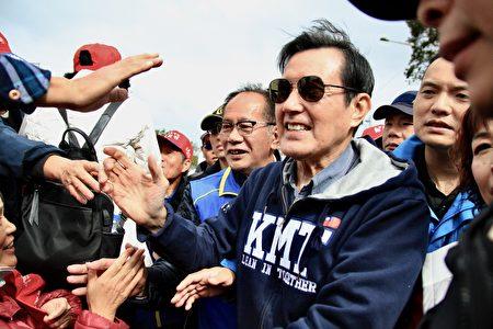 馬前總統預祝陳超明馬到成功。