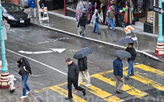 加州下雨了 但雨水會持續多久?