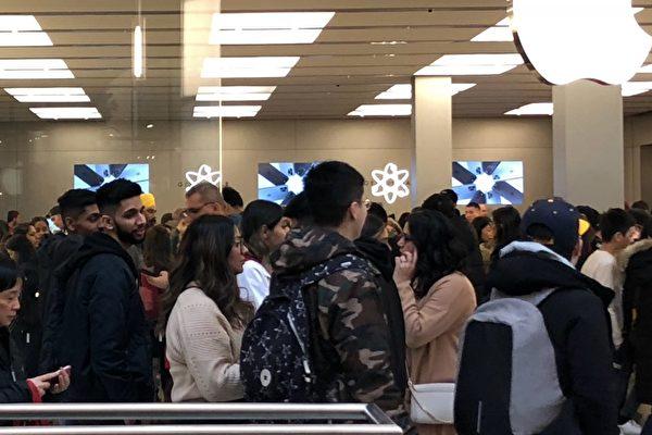 鐵道鎮購物中心蘋果專賣店