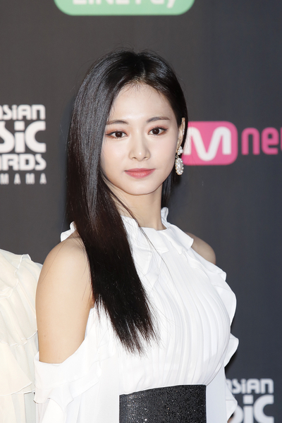 Tzuyu of TWICE attends the 2018 MAMA