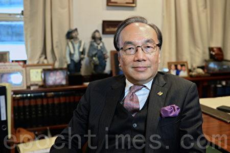 香港公民黨主席、資深大律師梁家傑。(宋碧龍/大紀元)