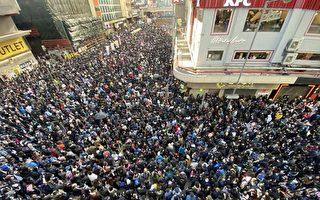 张晓明再提23条 港抗议者:将致中共覆灭