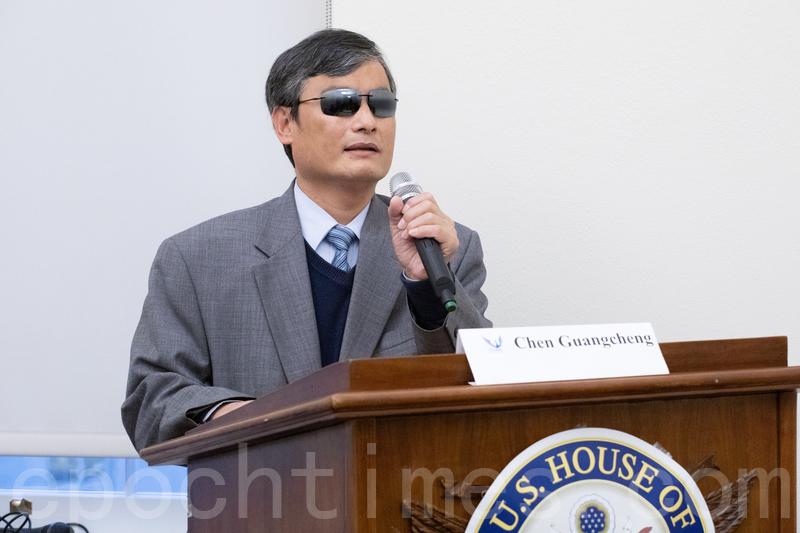陳光誠:中共所為人神共怒 歷史關鍵時刻到來
