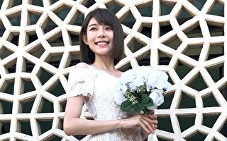 林明禎錄節目首披婚紗 電影新作明年初上檔