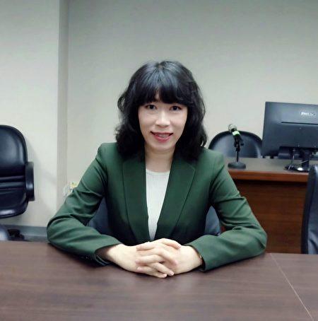 台北科技大學智慧財產研究所副教授江雅綺。(江雅綺提供)