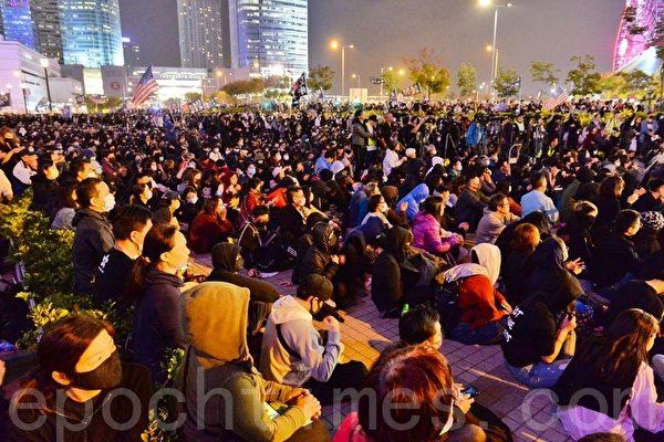 香港4.5萬人集會聲援星火同盟