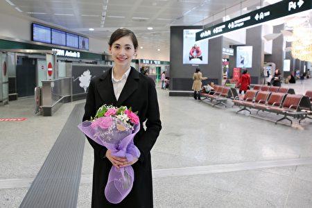 2019年12月25日,神韻領舞演員周歌說,回到意大利好像回到故鄉。(楊天樂/大紀元)