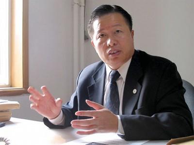 中國著名人權律師高智晟(大紀元)