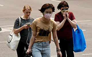 悉尼空气污染致戴口罩自拍火爆社交媒体