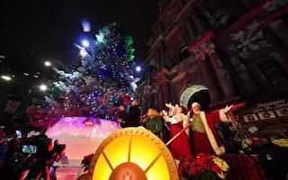 歡慶佳節  費城舉行聖誕樹點燈儀式