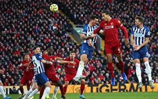 范戴克「梅開二度」 利物浦主場2:1戰勝布萊頓