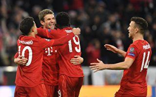 歐冠16強:首次由歐洲五大聯賽球隊包攬