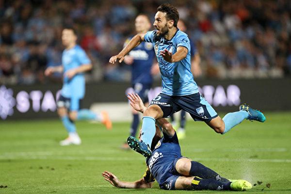 澳洲A聯賽第10輪,悉尼隊在主場1:0小勝中央海岸水手隊
