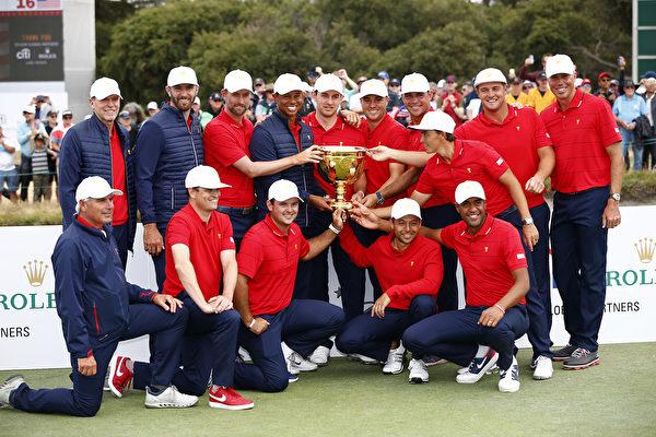 高尔夫总统杯赛美国队