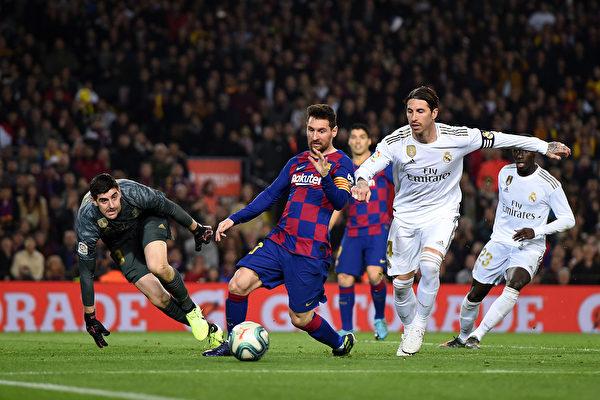 西班牙国家德比 巴萨同皇马0:0