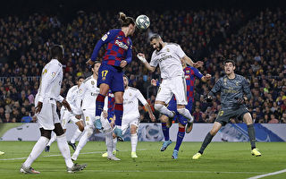 西班牙国家德比 巴萨同皇马0:0握手言和