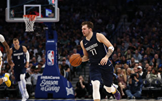 NBA獨行俠終結勇士4連勝 東契奇「三雙」