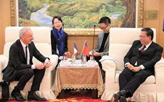 法國在台協會主任公孫孟  桃市府友誼交流