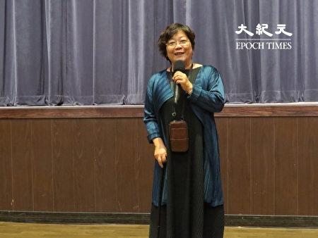 桃园市国乐团团长孟美英希望中西乐相互交流。