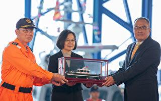 總統:編426億10年打造141艘海巡艦艇