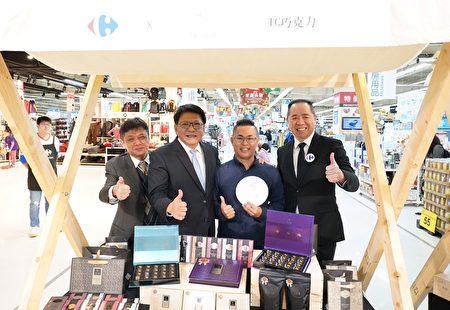 为加速拓展屏东可可通路,屏东县政府与大卖场合作,在全台家乐福上架5个品牌屏东巧克力。