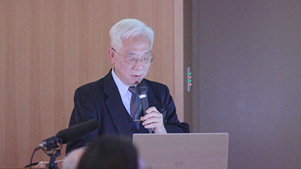 日本沖繩的移植外科醫生小川由英介紹日本器官移植狀況。(新唐人)