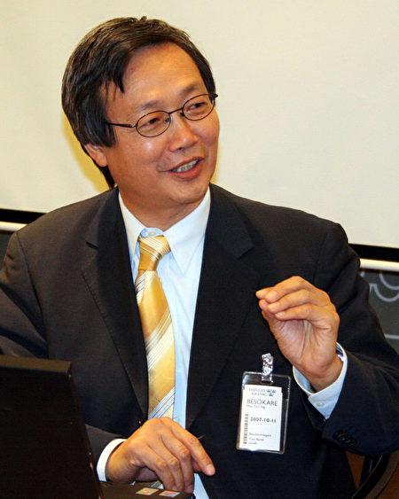 國際人權協會理事吳曼揚。資料照。(李志和/大紀元)