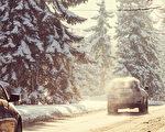 加拿大降雪