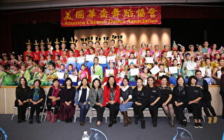 华裔舞蹈协会举办大型舞蹈比赛