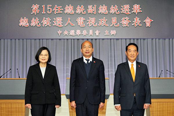 夏小強:台總統候選人政見會結束 大勢已定