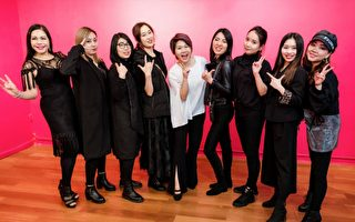 纽约首届华人创意妆容时装秀  聚焦彩妆师