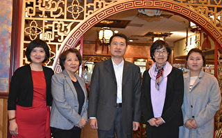 第一IC银行高管与华文媒体餐叙