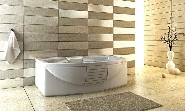 3d rendering of the modern bathroom Fotolia