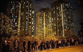 组图:12.12逾千市民到周梓乐灵堂悼念