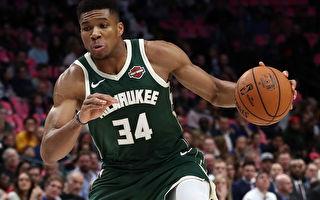 NBA東西部榜首對決 雄鹿力克湖人