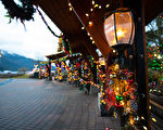 11月23日至2020年1月12日,哈里森温泉美丽的冬季——湖畔灯光节登场,湖畔灯光梦幻璀璨。